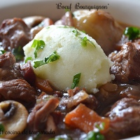 Boeuf Bourguignon ( Julia Child )