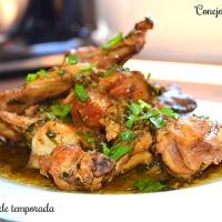 Conejo al ajillo (receta tradicional)